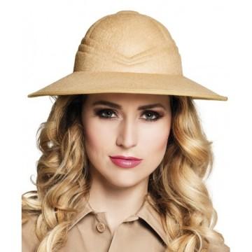 Beige Chapeau de safari unisexe Widmann Adulte 01886 Taille unique