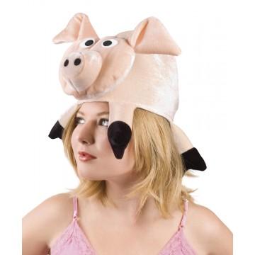 Chapeau cochon rose