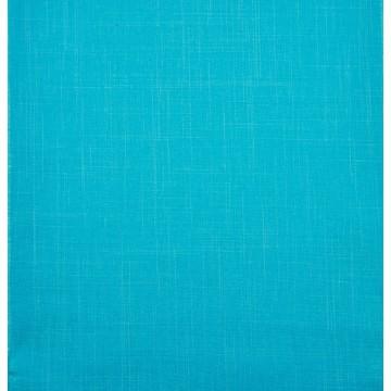 Chemin de table bleu toile 28 cm x 5 m