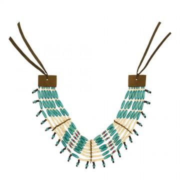 Collier Indienne squaw 7 rangées