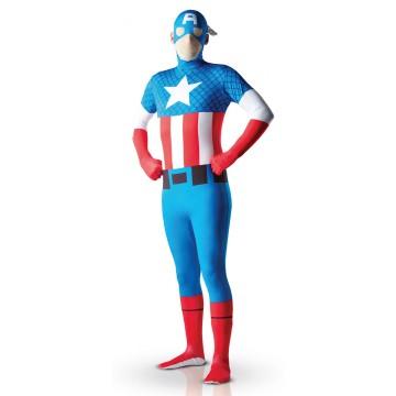 Déguisement Captain America seconde peau