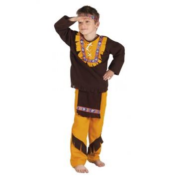 Déguisement Indien little chief garçon
