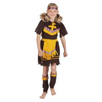 Déguisement indienne little barefoot fille