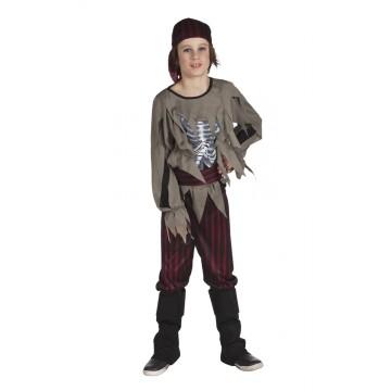 Déguisement Pirate zombie garçon Halloween