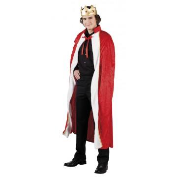 Déguisement Roi pour homme rouge