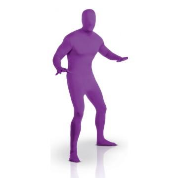 Déguisement seconde peau violet
