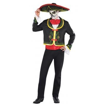 Déguisement Senõr Jour des Mort Halloween