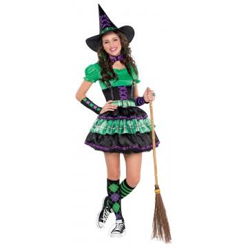 Déguisement Sorcière cool Halloween