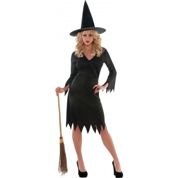 Déguisement sorcière noir