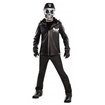 Déguisement Squelette de rocker Halloween adolescent