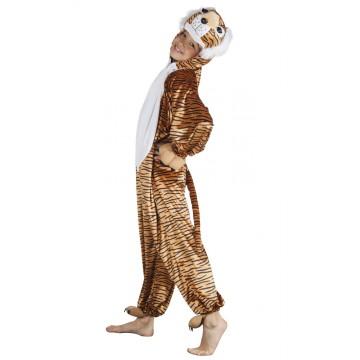 Déguisement Tigre peluche enfant max 1,40 m