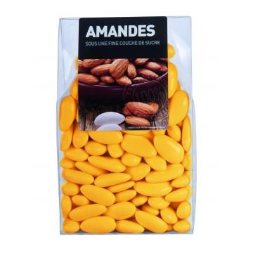 Dragées Amande Longuette Bouton d'or 450 gr