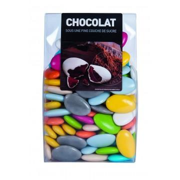 Dragées chocolat Multicolore 500gr