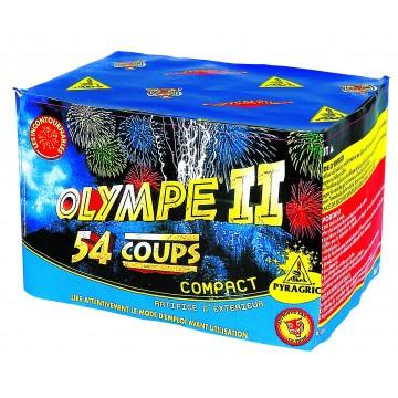 Feu d'artifice compact Olympe II 54 coups