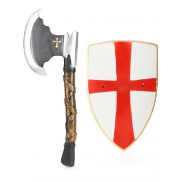 Hache de chevalier 39 CM