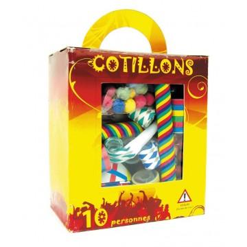 Kit Cotillon 10 personnes multicolore