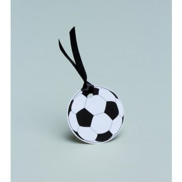 Lot de 10 étiquettes ballon de foot