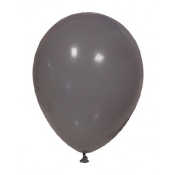 Lot de 100 ballons de baudruche en latex opaque gris