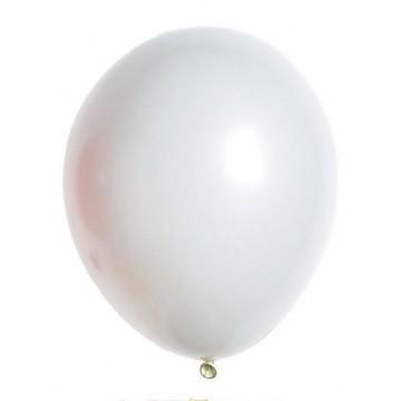 Lot de 100 ballons  en latex opaque blanc