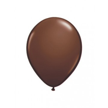 Lot de 100 mini- ballons de baudruche en latex nacré chocolat