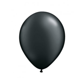 Lot de 100 mini-ballons de baudruche en latex nacré noir