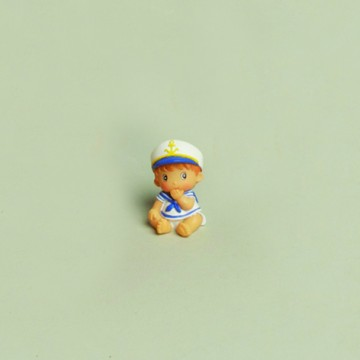 Lot de 2 Bébé Marin 4 cm