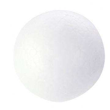Lot de 2 boules polystyrène D 10 cm