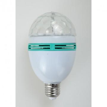 Lot de 3 ampoules leds Disco E27 1W