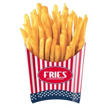 Lot de 4 Cornets pour frites USA Party