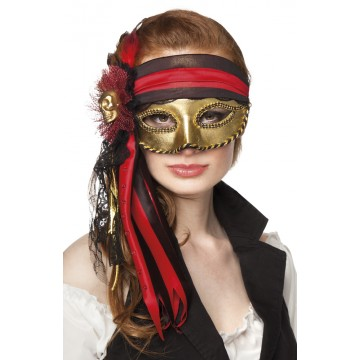 Masque Venice Donna pirate