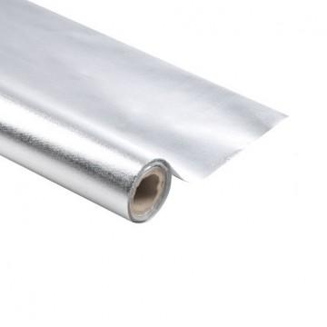 Nappe en papier Argent 1,20 m x 5 m Luxe