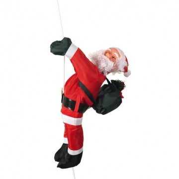 Père Noël Grimpeur 60 cm