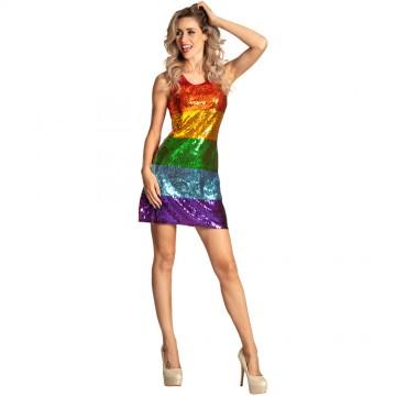 Robe Dazzle candy multicolore taille M