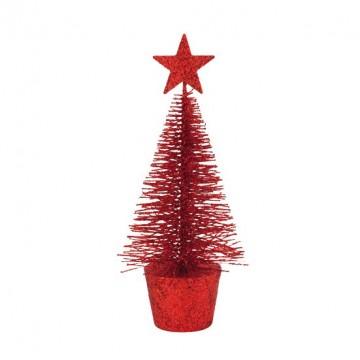 Sapin rouge 15 cm