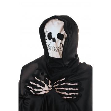 Set masque et gants de squelette Halloween