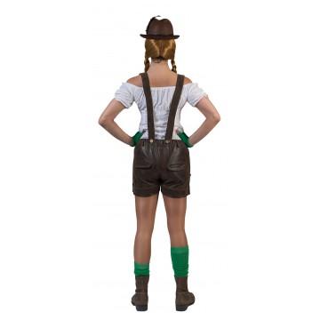Bretelles Bretelles Tyrolien Femme Avec Short Avec Short Tyrolien dCthrQs