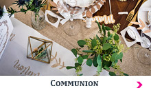 Art de la table Communion