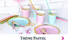 Art de la table Pastel