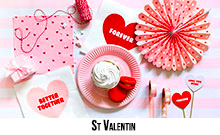 Art de la table St Valentin