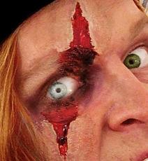 Maquillage Halloween oeil