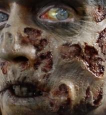 Maquillage Halloween visage