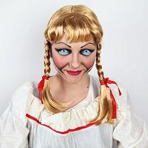 Maquillage Annabelle Halloween