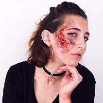 Maquillage Brûlure Halloween