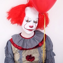 Maquillage Ça le clown Halloween