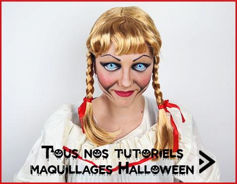 Tutoriels Maquillage Halloween