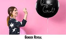 Ballons Gender Reveal