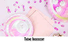 Art de la table Iridescent