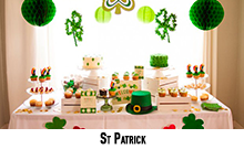 Decorations de salle St Patrick