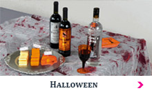 Art de la table Halloweenl