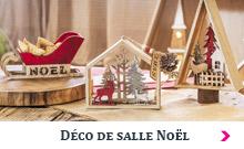 Déco de salle Noël